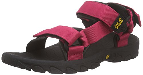 Jack Wolfskin SEVEN SEAS WOMEN, Damen Sport- & Outdoor Sandalen, Pink (azalea red plain 2085), 39.5 EU (6 Damen UK)