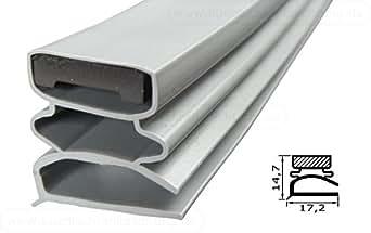 """Guarnizione per porta frigorifero """"klein f"""" 2500mm compresi magnetica colore: grigio"""