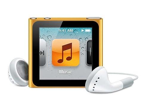 Apple iPod nano MP3-Player 8 GB (6. Generation, Multi-touch Display) orange (Apple Video Ipod Touch 8 Gb)