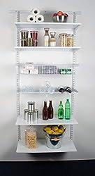 Element System Easy Regal-Set - Storage Room, 1016 x 1970 x 400 mm, Weiß