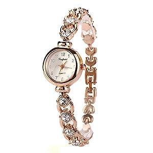 LVPAI Mode Luxus Frauen Beiläufig Uhren Damen Armbanduhr Uhr für Freundin Süß Groveerble