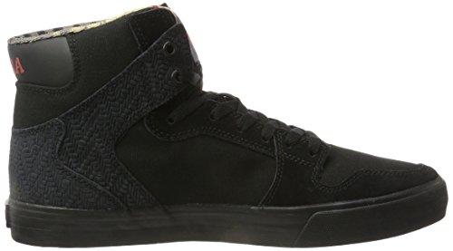 Supra Herren Vaider High-Top Schwarz (Black/Black) KCaKBc60l