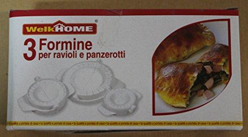 Set 3 Forme Formine Per Ravioli e Panzerottini Panzerotti WelkHome