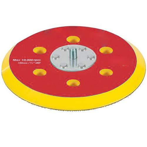 15,2cm (150mm) Stützteller/Scheiben-Orbital Schleifen/Polieren Teller-geeignet für Machine Head Polishers/Sanders-Haken und Schlaufe Sand Papier Blatt-Cablefinder (Und Schleife Papier Schleifen Haken)