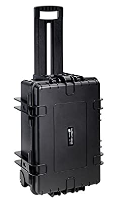 B&W International Type 6700 Outdoor Case with Removable Insert for DJI Phantom 4/4 PRO/4 PRO+/4 Advanced - Black