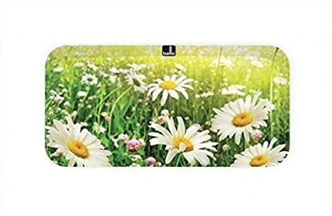 Daisy Design Melamine Plastic Rectangular Serving Lap Tray (Small) by Bell'O