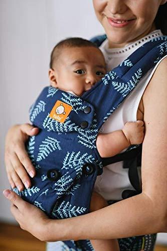 Baby Tula Explore - EVERBLUE - Marsupio regolabile per neonati e bambini, ergonomico, varie posizioni per 3,2-20,4 kg
