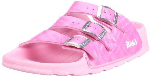 Birki Cuba 115663, Sandali ragazza Rosa (Pink (SHINY CHECK ROSE))