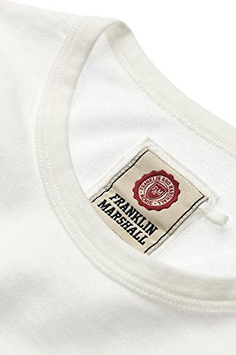 Franklin & Marshall - Felpa FLWF559ANS17 per donna 0178 - OLD WHITE