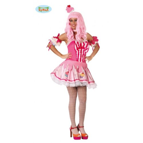 Cupcake Muffin–Disfraz para mujer Talla M