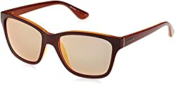 Vogue Mirrored Womens Sunglasses - (0VO2896S2279R554|54|Grey Mirror and Rose Gold)