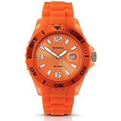 Sekonda Unisex Party Time Watch 3364.27 With Orange Dial