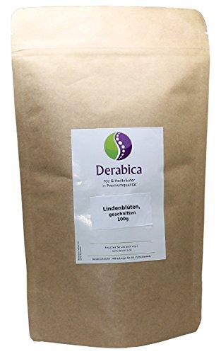 Derabica Lindenblüten-Tee 100g - Lindenblüten getrocknet und geschnitten