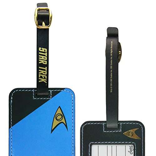 Star Trek Blue Uniform Luggage Tag (Luggage Strap Id)
