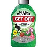 Blumen Get Off My Garden Fernhaltekristalle für Hunde und Katzen (240 g) (Mehrfarbig)