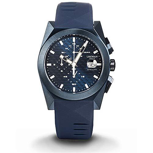 Reloj Locman Nuovo Stealth 0812B02S-BLBLWHSB
