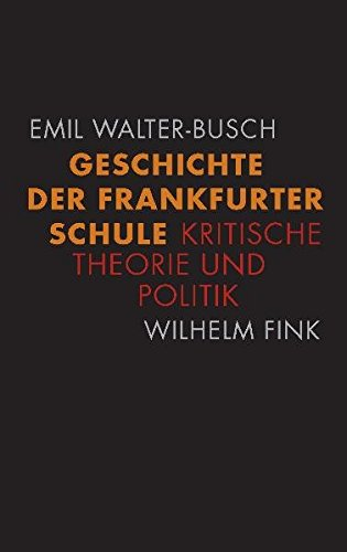 Geschichte der Frankfurter Schule