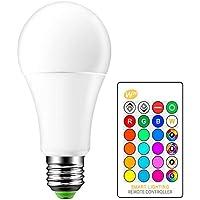 ONEVER 15W RGBW LED E27 Cambio de color Ambiente de la l¡§?mpara de iluminaci¡§n LED Bar KTV luces decorativas del estrobosc¡§pico del flash de fundido modo RGB + blanco c¡§?lido