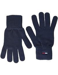Tommy Hilfiger Tjw Basic Flag Rib Gloves Guantes para Mujer