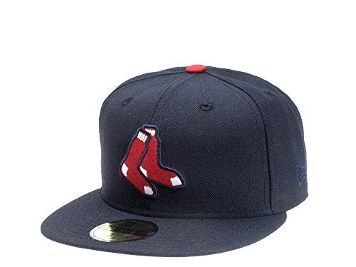 New Era Fitted Cap der Boston Red Sox - MLB Kappe in Navy (7 1/2) Navy Fitted Cap