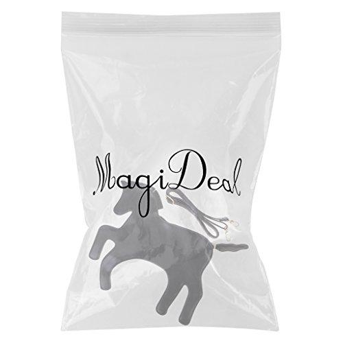 MagiDeal Borsa Da Donna A Tracolla Forma Di Unicorno Alla Moda Regalo Per Festa Compleanno Foto Props Nero