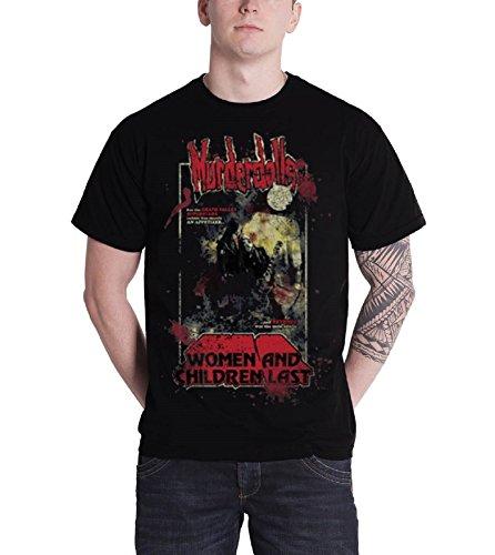 Murderdolls T Shirt 80s Horror Vintage Poster Band Logo offiziell Herren Nue (Vintage T-shirt 80s)