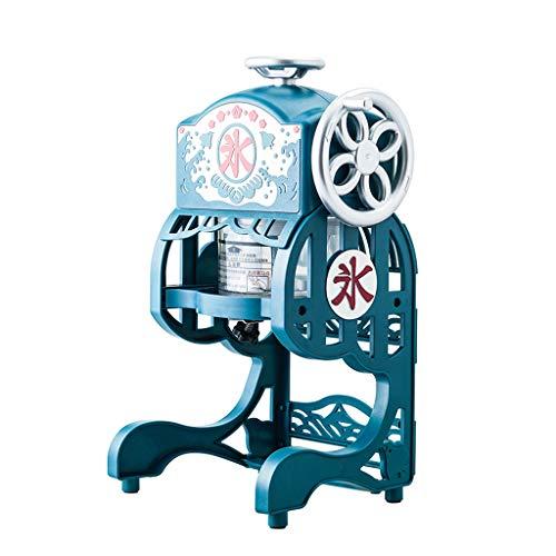 Elektrische Fluffy Shaved Ice Machine Kleine Home Snow Cone Maker Kommerzielle Retro-Eisbrecher GeräUscharmer Betrieb (Ice Maker Machine 220v)