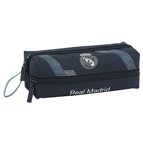 Safta- Portatodo 3 Cremalleras Real Madrid,, Unica (811834823)