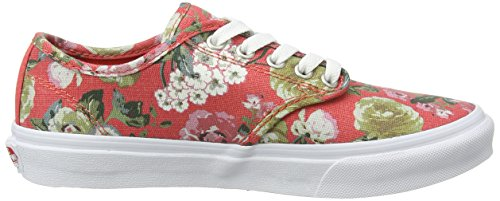 Vans Camden Stripe, Baskets Basses Femme Noir - Black (Tapestry - Cayenne/White)
