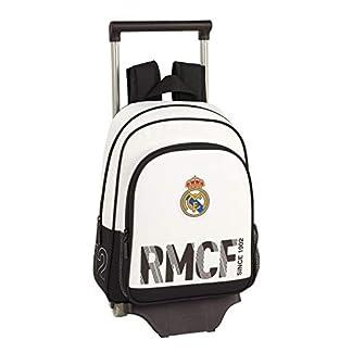 418 uUIgorL. SS324  - Real Madrid CF Mochila pequeña Ruedas, Carro, Trolley