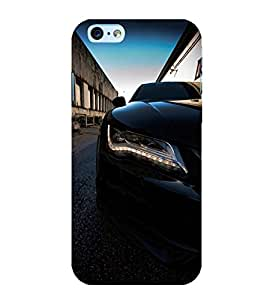 FUSON Sports Car Luxury View 3D Hard Polycarbonate Designer Back Case Cover for Apple iPhone 6 Plus :: Apple iPhone 6+