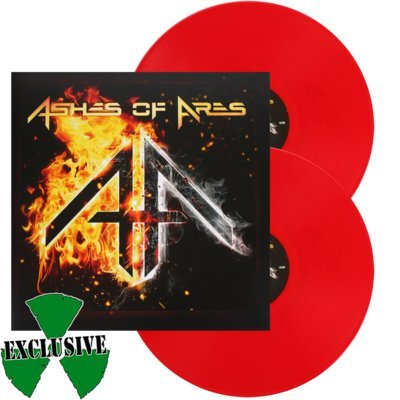 ASHES OF ARES, Ashes of ares RED VINYL - 2LP