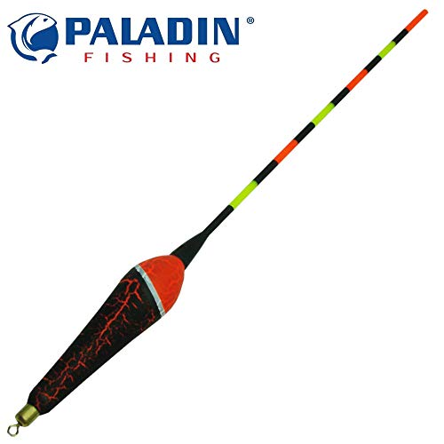 Paladin LED Waggler - Angelpose mit Licht zum Nachtangeln, Pose mit Lampe zum Angeln in der Nacht, Friedfischpose, Leuchtpose, Tragkraft:4+2g
