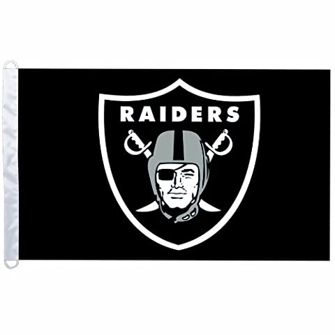 Oakland Raiders 3 feetx5 feet Flag