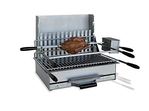 Barbecue grillade à charbon en acier Sète