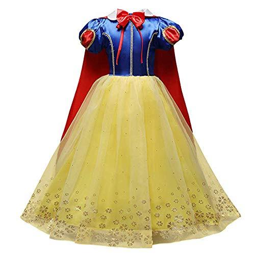 �m Snow White Rock Mädchen fremdes Gaskleid Fluffy Rock Performance Kleid (7A, Green) ()
