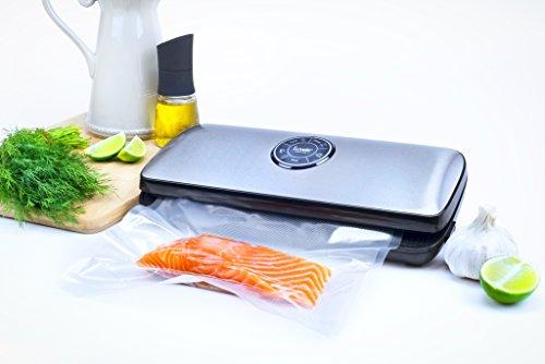 418 xuKkAEL - Luvele Deluxe Vacuum Sealer Food Saver Kitchen Vacuum Packing Machine Sous Vide Cooking Bags