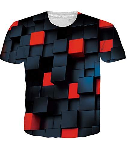 Kostüm Shirt Katze T - Fanient T-Shirts Männer Katzen Grafik Personalisierte Kurzarm Shirt Sommer Rundhals Tee