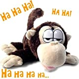 Roffle Tachita Affe - der rollende, lachende Affe - auch als Bewegungsmelder geeignet - Länge 29 cm