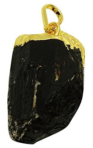 Harmonize Piedra negra del turmalina Pendiente...
