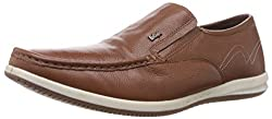 Lee Cooper Mens Tan Leather Loafers and Mocassins - 7 UK