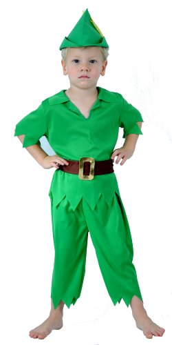 Imagen de kids children like peter pan fancydress costume outfit disfraz  alternativa