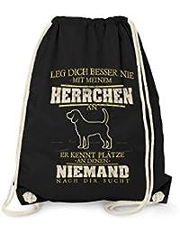 Rucksack GYM Bag Turnbeutel Leinentasche Beagle SOMMER  Hund Züchter Geschenk Sporttaschen & Rucksäcke