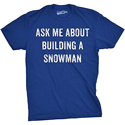 Snowflakes Costumes For Kids - Crazy Dog TShirts - Mens Ask Me
