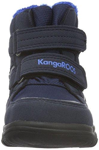 KangaROOS Unisex-Kinder Sympa in 2108 Schneestiefel Blau (dk navy/royal blue 481)