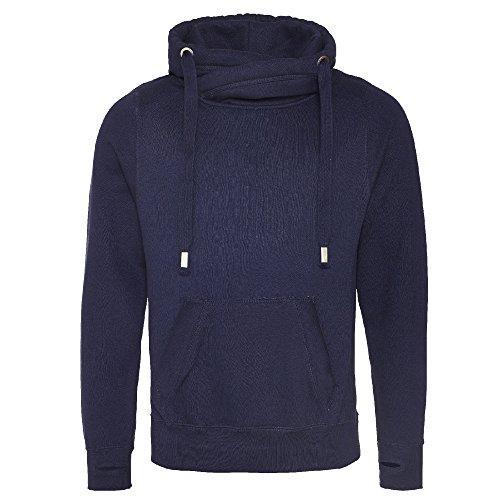 AWDis - Hoods - Felpa con cappuccio - Uomo Blu Oxford