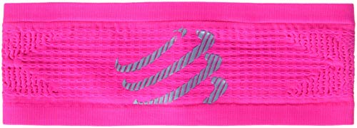 Compressport headband on/off bandana on/off, rosa (fluo pink)