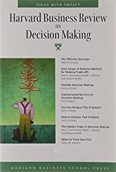 Harvard Business Review on Decision Making.