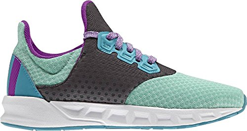 adidas Falcon Elite 5 Xj, Chaussures de Tennis Mixte Enfant Marron (Versen/pursho/azuene)