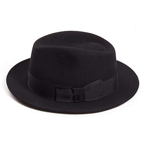 Dasmarca Laine London Code Postal Collection Bloomsbury_WC1 Winter Felt Fedora Hat